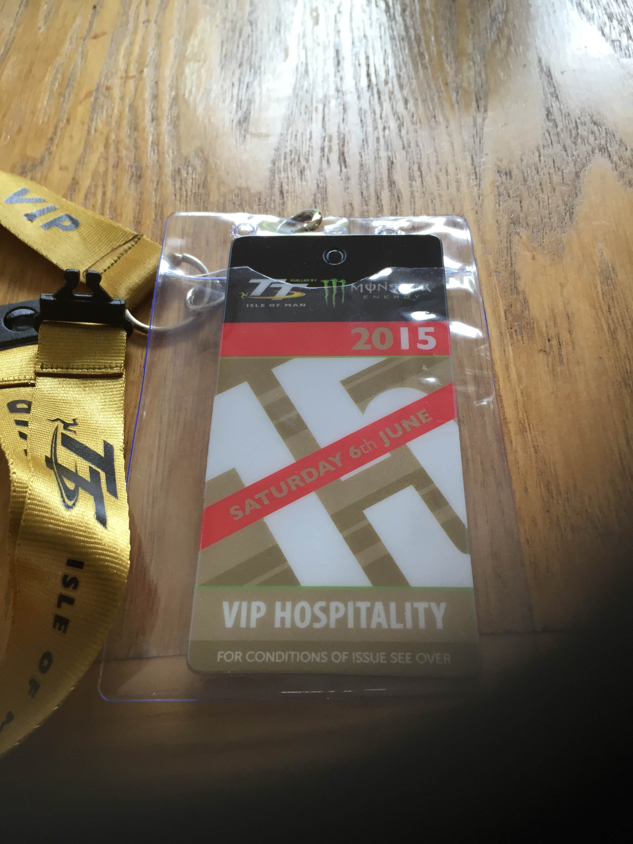 VIP hospitality tickets Isle of Man
