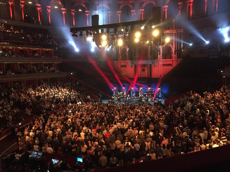 Åge Aleksandersen i Royal Albert Hall Juni 2016