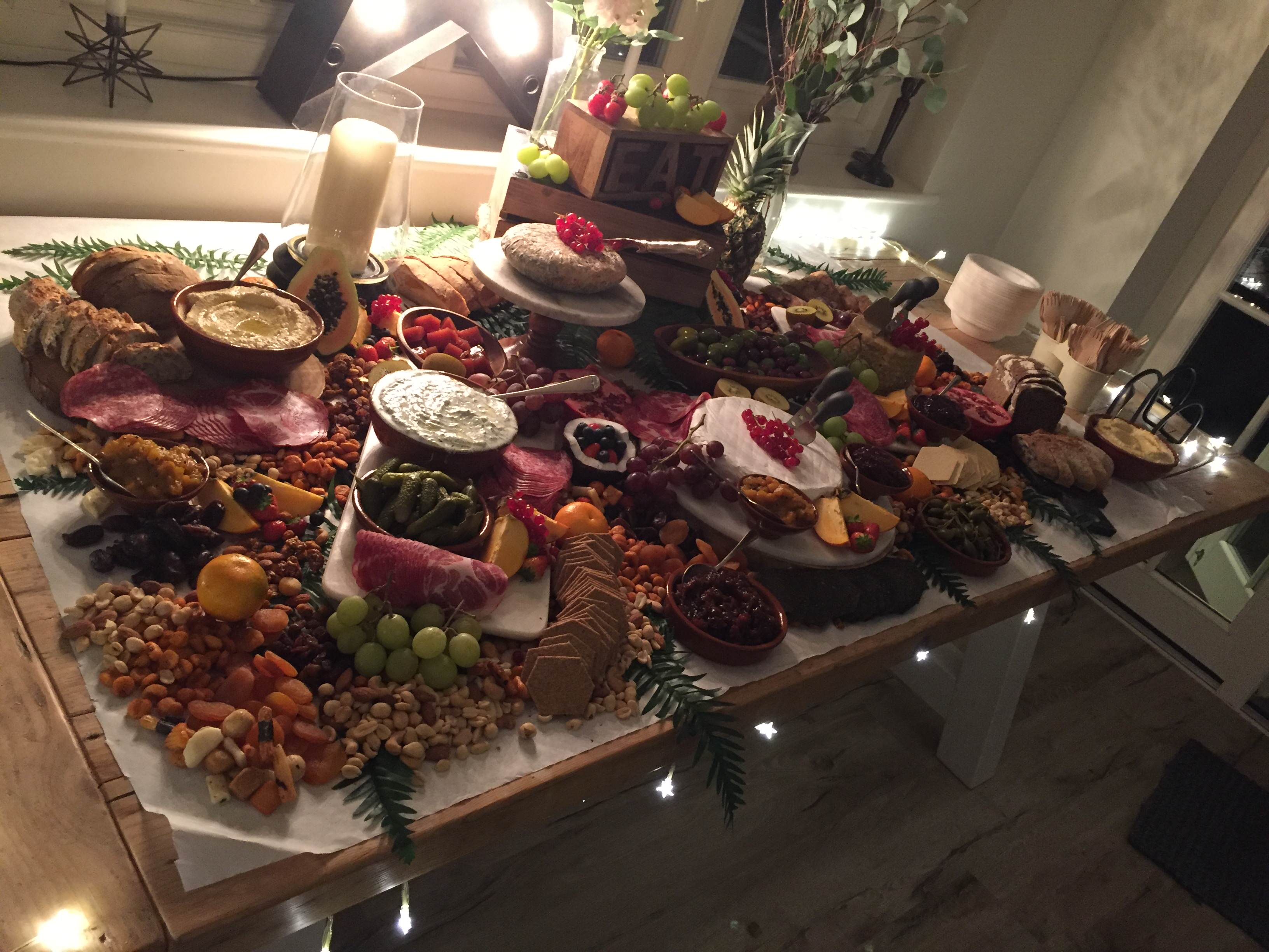 Grazing table from Freast from the Mideast