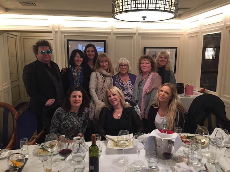 Birthday lunch at Fredricks Hotel Maidenhead January 2017