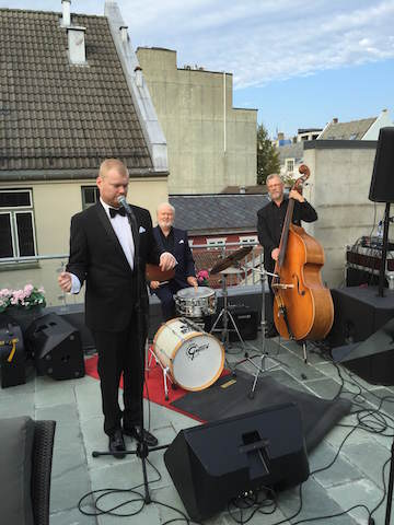 Sinatra band på Høyer event august 2016