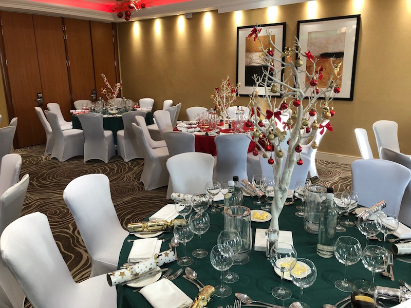 NBCC Christmas lunch in London November 2019